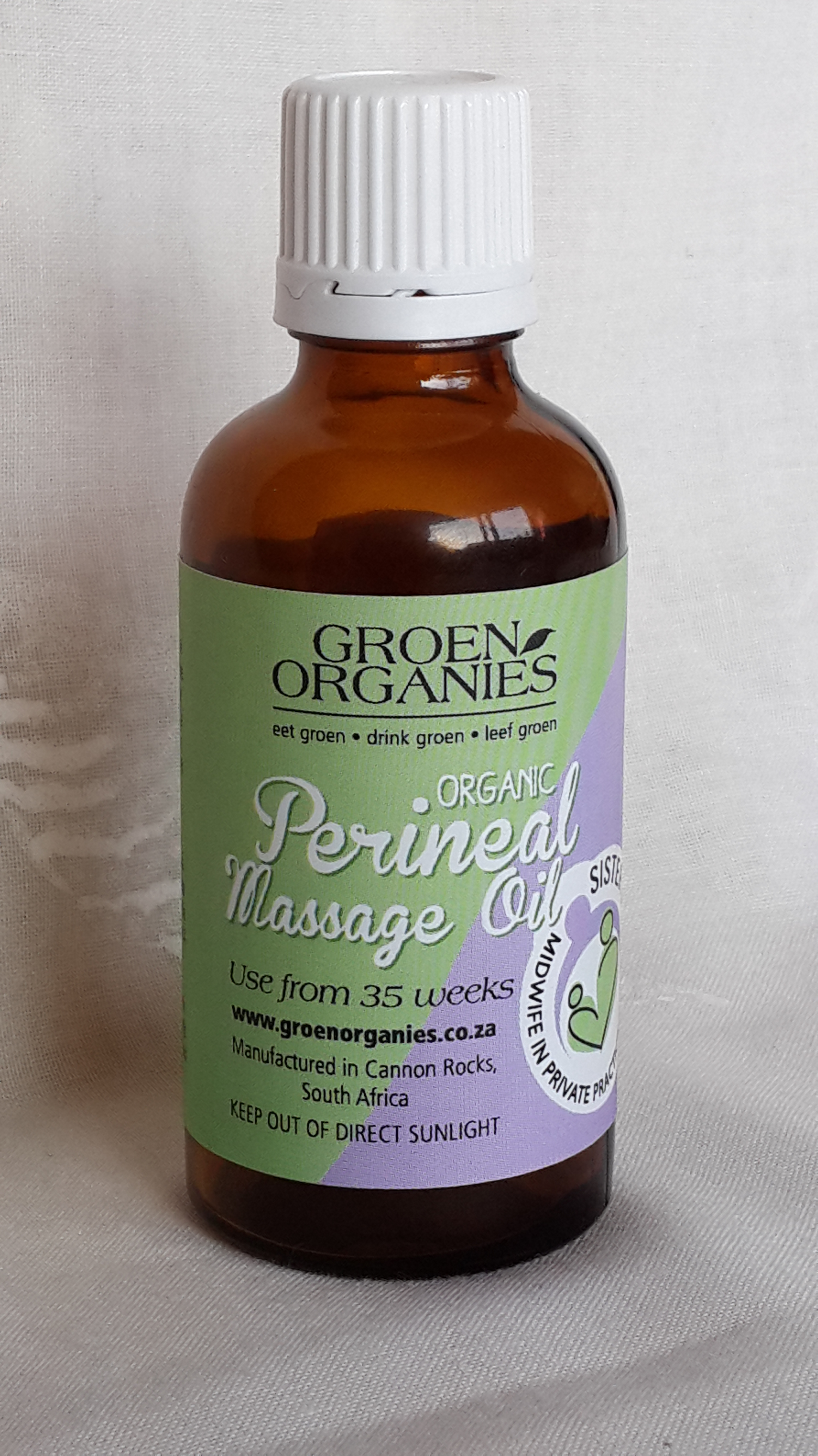 Organic Perineal massage oil | Sister Ingrid - Care with a ...